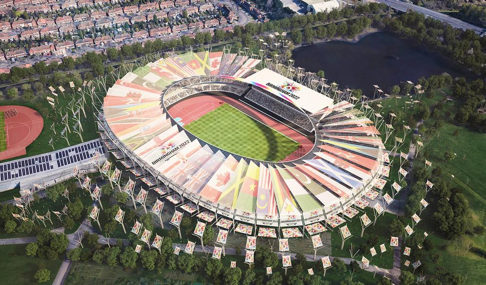 Alexander Stadium's capacity will be increased from 12,700 to 50,000  for the Games