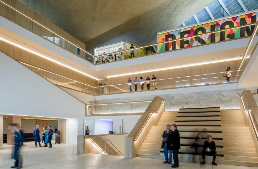 The Design Museum celebrates industrial, artistic and technology innovations / PHOTO: Gareth Gardner