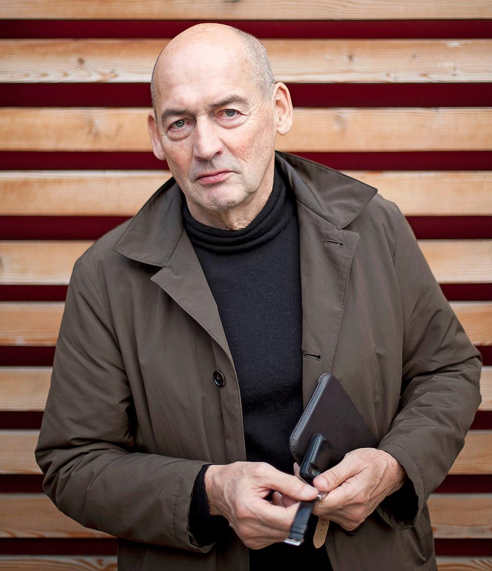 Rem Koolhaas Founder, OMA / Strelka Institute for Media, Architecture & Design