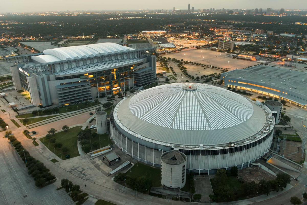 The Astrodome was first opened in 1965 and is now on the US National Register of Historic Places / Wikipedia.com