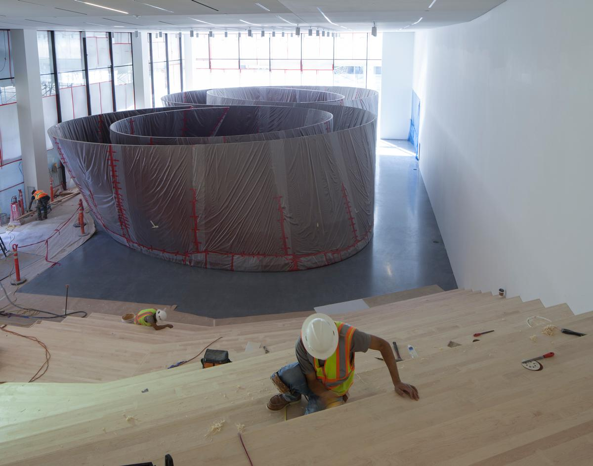 Construction on the building is entering its final phases / Henrik Kam, courtesy of SFMOMA.