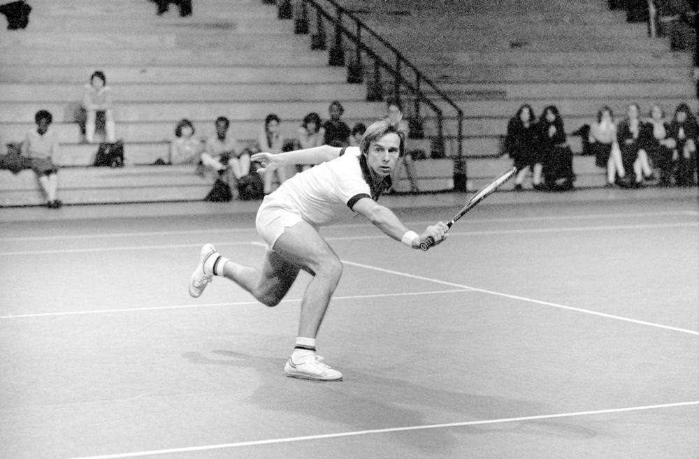 David Lloyd playing at the 