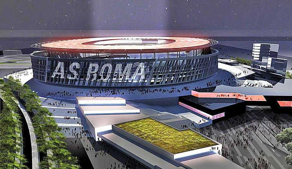 The AS Roma development will include a training complex, club museum, superstore and restaurants