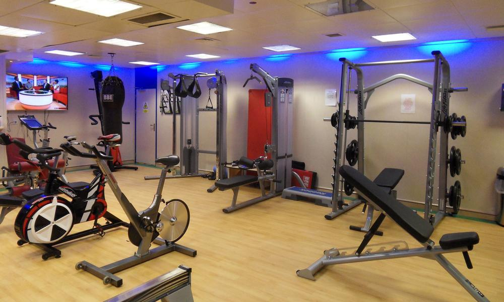 Life Fitness is the main supplier to the gym, with equipment installed by DG Fitness
