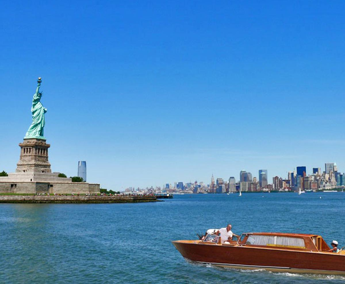 The governors island project includes three landmark for Qc terme new york