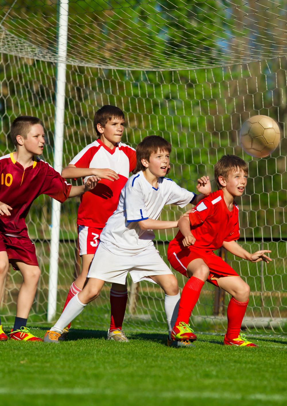 If you want to encourage participation in sport, children need to be able to play. / shutterstock / Wallenrock