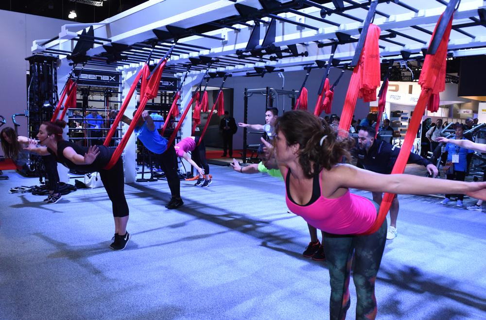 A two-day trade show formed a key part of the offering at IHRSA 2017