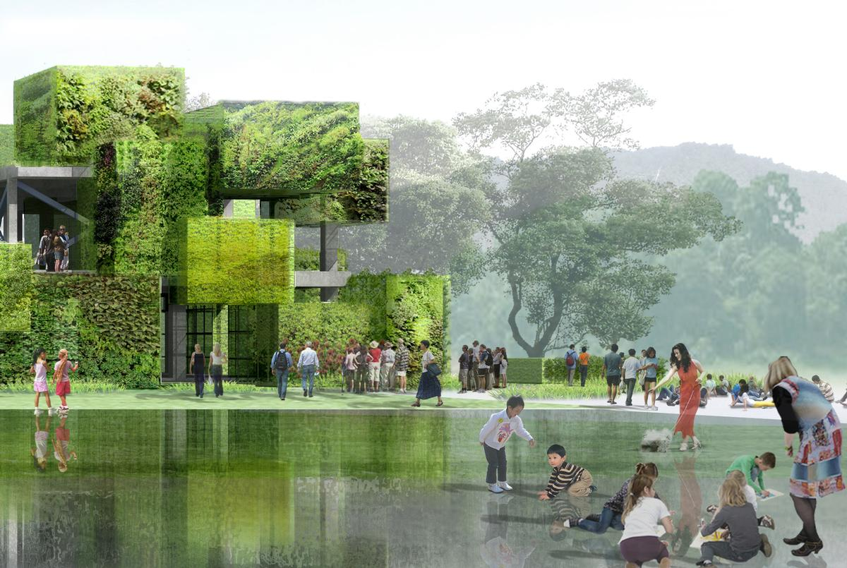 The design is inspired by Chinese garden culture / Studio Pei-Zhu