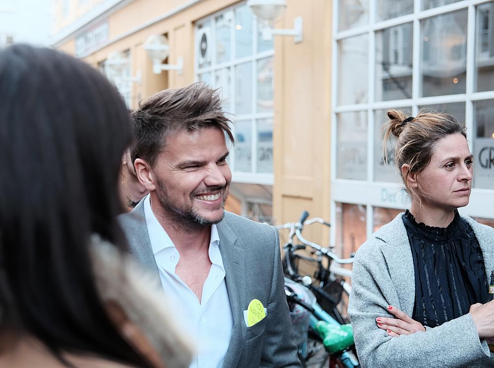 Ingels at the launch of Kaspar Astrup Schroder's BIG Time documentary earlier this year