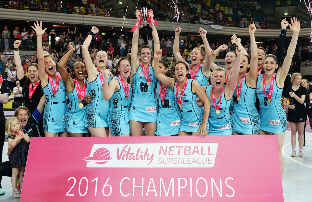 Surrey Storm were crowned champions of the 2016 Netball Superleague