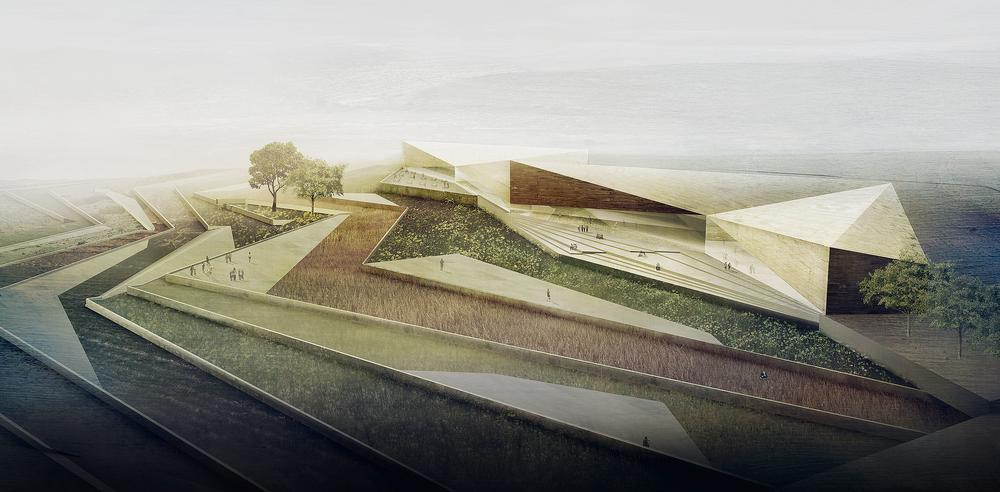 A series of terraces will tell the story of the history of the area / IMAGES COURTESY OF HENEGHAN PENG ARCHITECTS