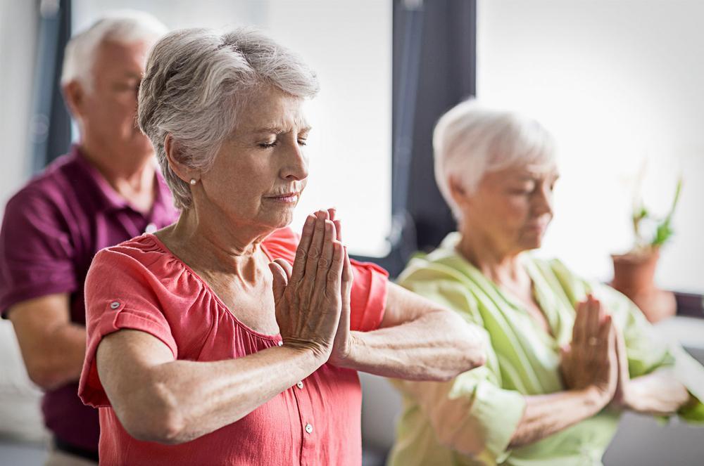 Senior fitness should offer a broader mind-body approach / PHOTO: Shutterstock