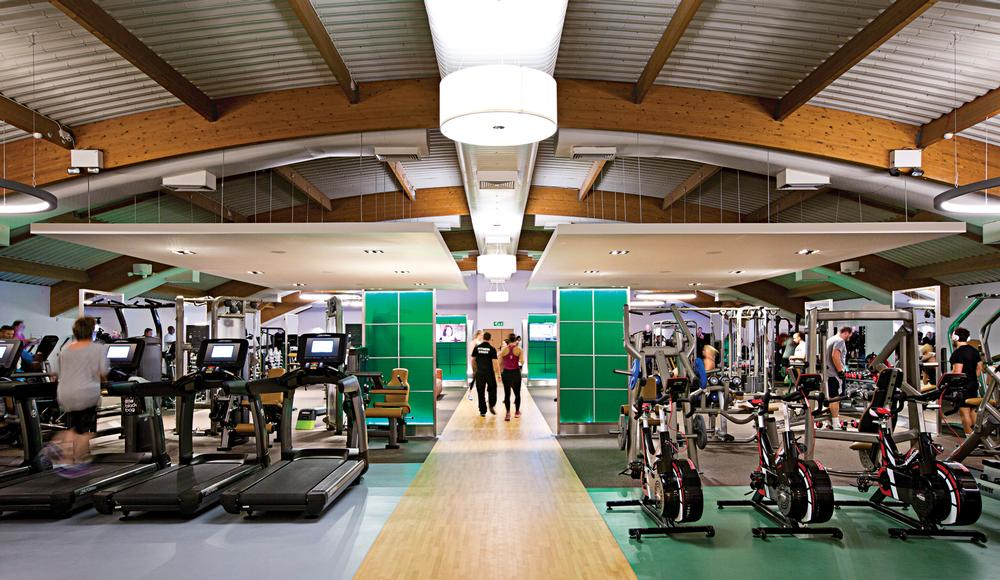 The UK's David Lloyd Leisure is second in the revenue rankings after Virgin Active