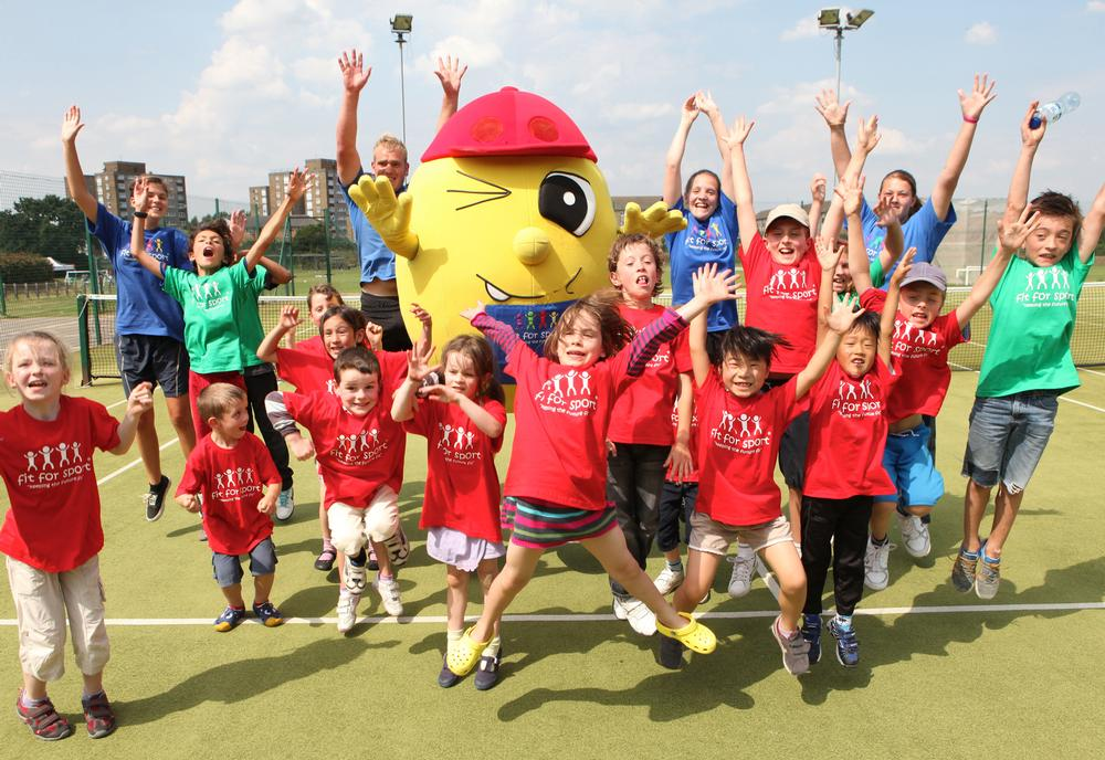 Lunch time sport has increased pupils' confidence levels as well as improved academic performances