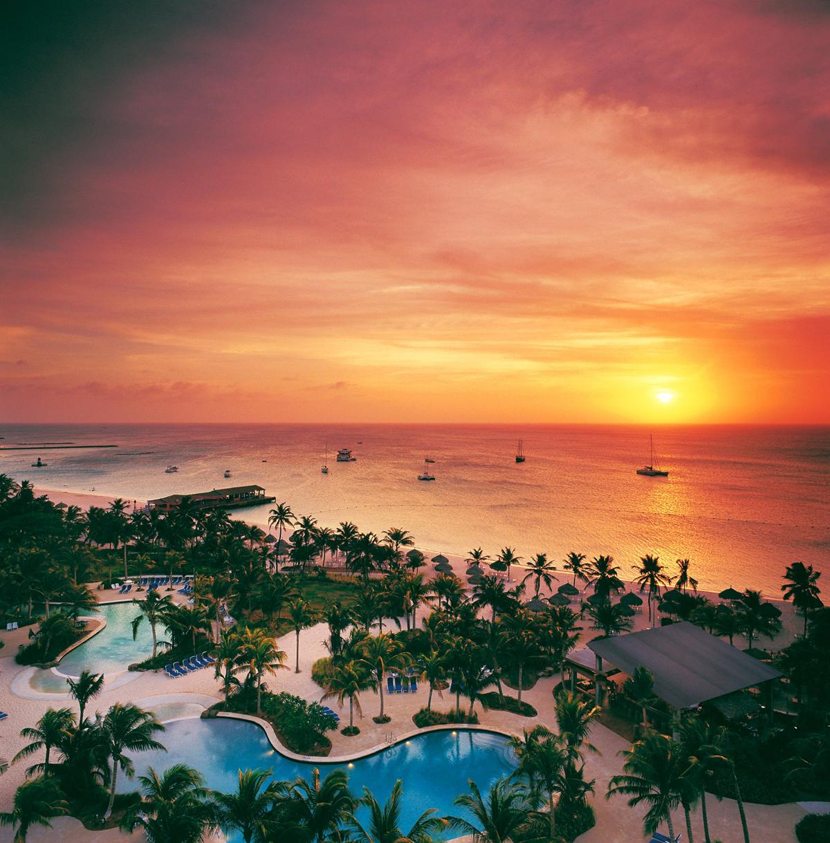 Hilton opens oceanfront resort and spa in Aruba, Caribbean