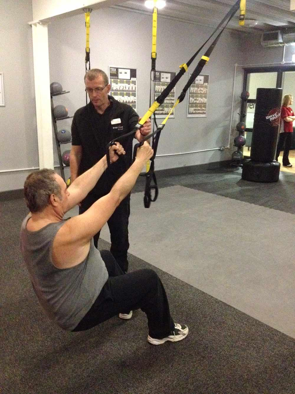 TRX has been used with severely deconditioned people at Fareham