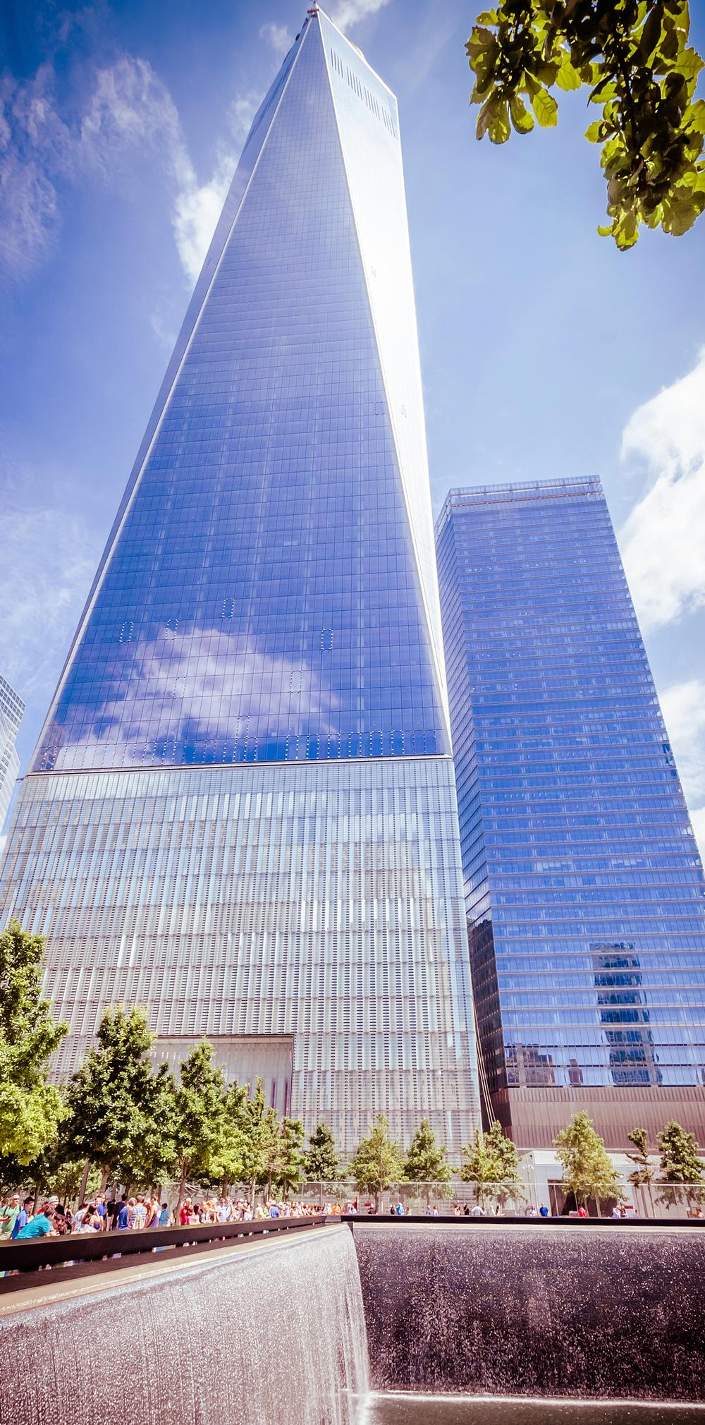The new One World Trade Center is 541m high / © istockphoto.com/alexpro9500
