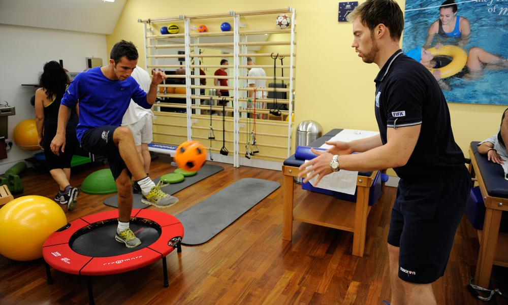 Isokinetic London offers facilities which would usually only be available at elite sports medicine or military rehabilitation centres
