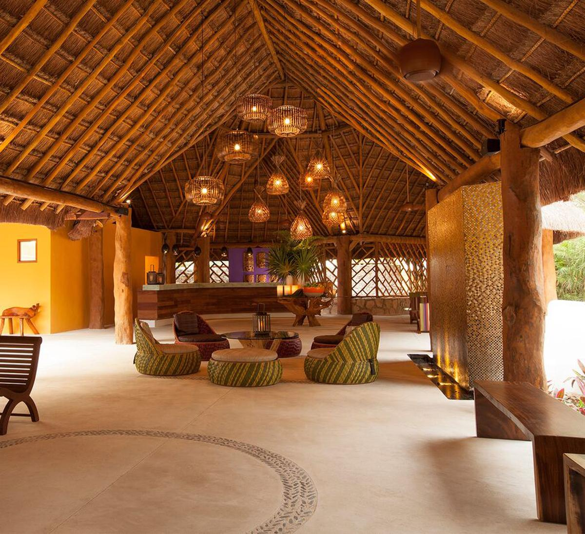 The expansion of the resort added 74 palapa-style bungalows and a new 2,500sq ft (232sq m) Mayan-inspired Revive Spa / Mahekal Beach Resort