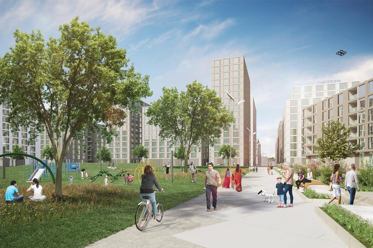 The development of Old Oak and Park Royal Common is conceived as the UK's largest regeneration project / OPDC