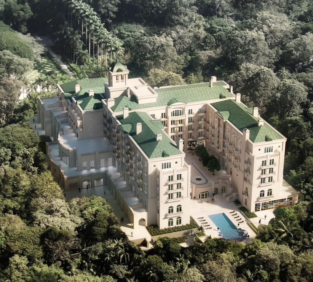 Oetker is also opening The Palacio Tangara in Sao Paolo, Brazil in 2017 / Oetker Collection