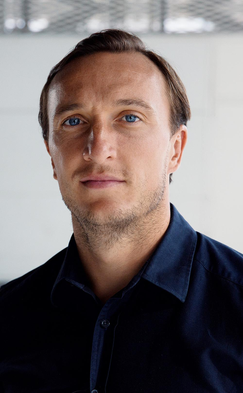 West Ham captain Mark Noble has given his support to the ambitious project / portraits by Jake Ratcliffe