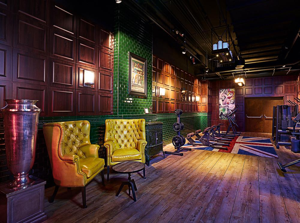 """Wood and dark colours are a key feature in the interior décor, and the whole effect is one of an """"English private members' club meets nightclub for Millennials, meets Buddhist temple"""", says mystery shopper John Harris"""