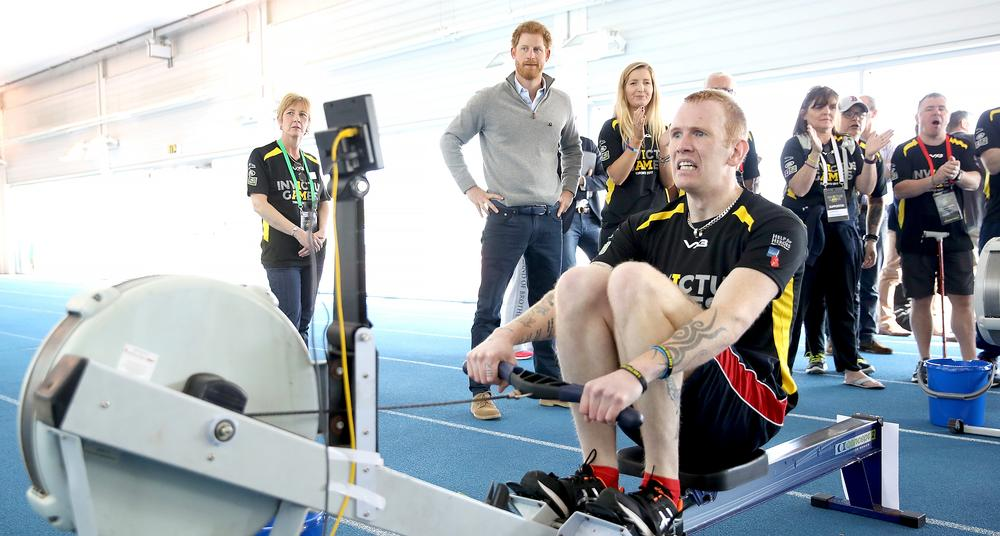 Prince Harry watches trials for the 2017 Invictus Games at the University of Bath / © Chris Jackson/PA Wire/PA Images