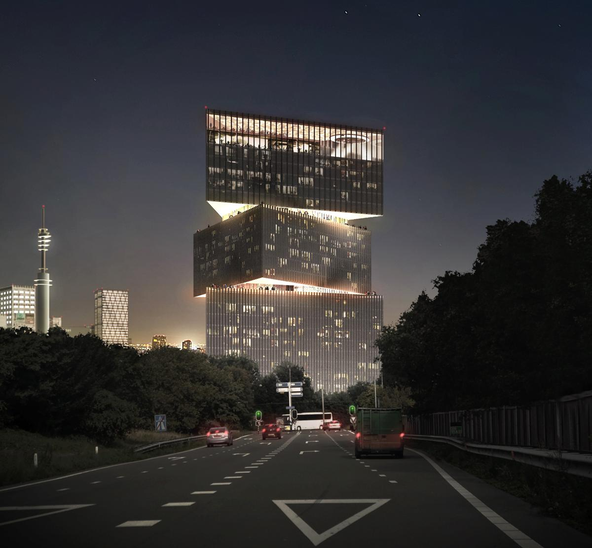 Developer cod is expected to start construction on the for Hotel amsterdam design