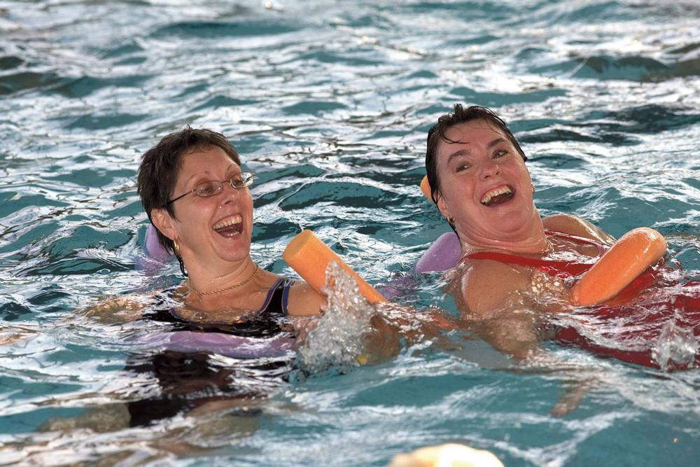 Adult learner classes are popular and often lead to regular memberships