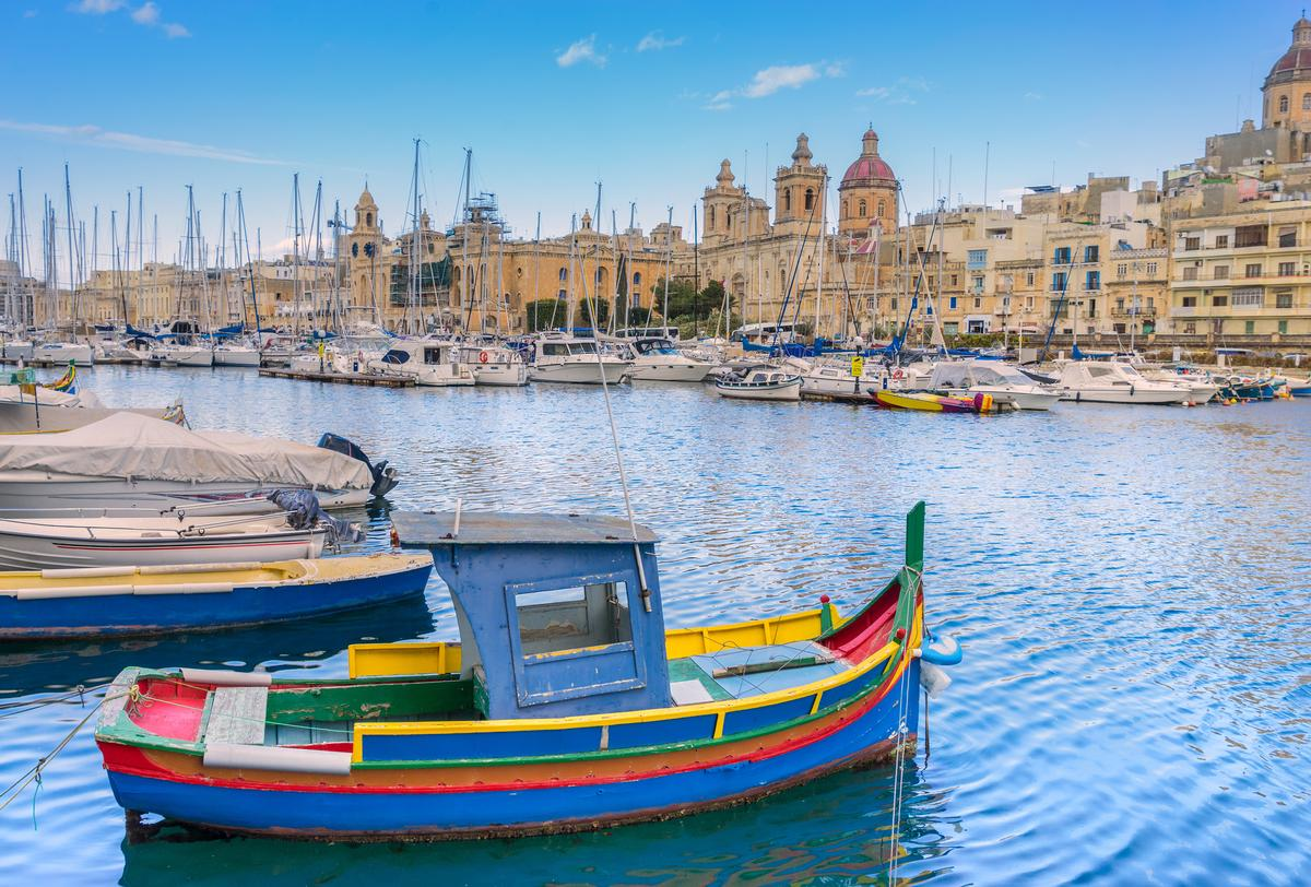 Attendees gathered in the UNESCO-listed heritage city of Valletta / Shutterstock.com