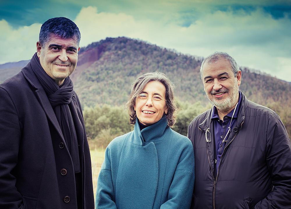 Rafael Aranda, Carme Pigem and Ramon Vilalta / PHOTO: Javier Lorenzo Domínguez