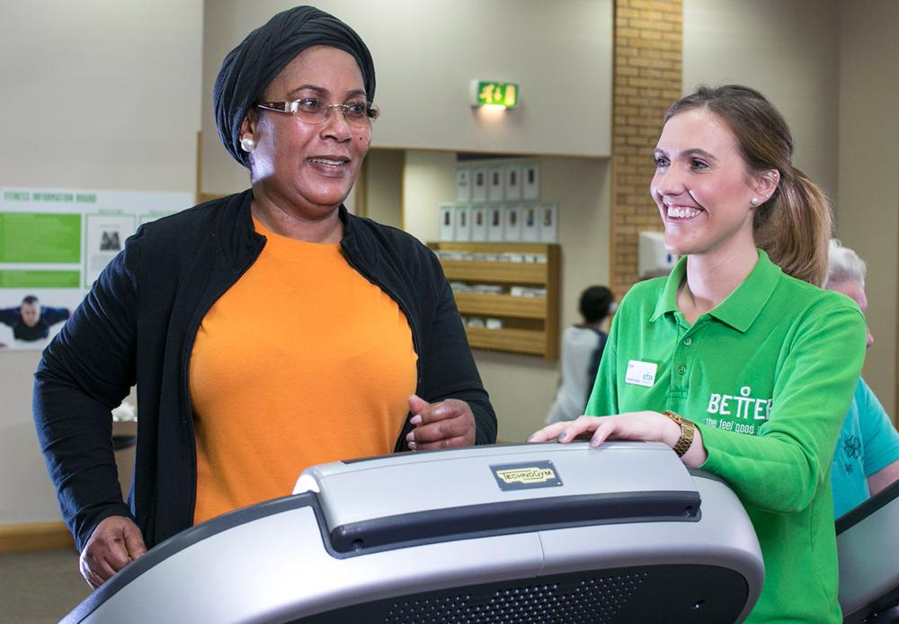 GLL's Healthwise is a physical activity referral scheme for those with existing medical conditions