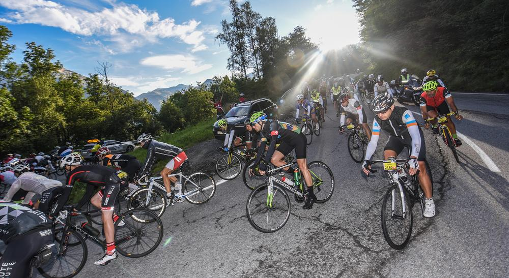 "Haute Route offers amateur cyclists the chance to ""be in the skin of a pro"""