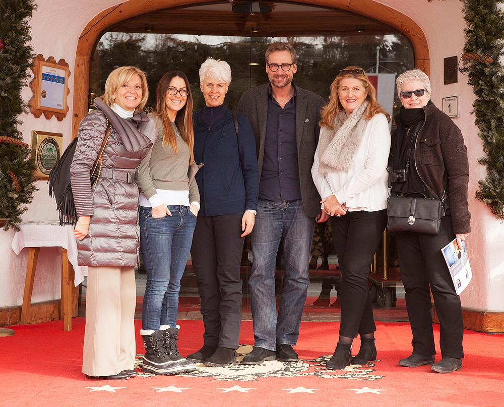 Spa Business with the GWS co-chairs and organisers on location in Kitzbühel