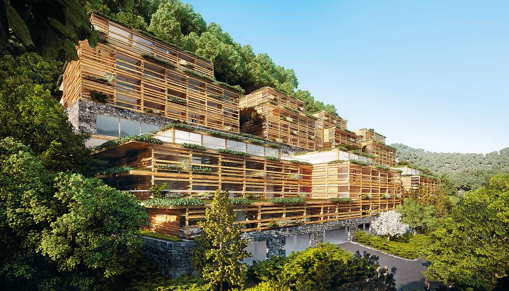 Upcoming Matteo Thun project, the Waldhotel Healthy Living in Switzerland, will open in 2017 / PHOTO: © MATTEO THUN + PARTNERS/MICHAEL BEHRENDT