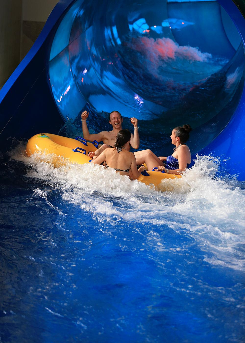 The Tornado is one of three new water rides