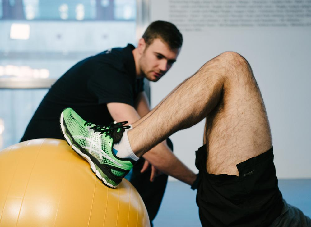 Sports injury clinic Pure Sports uses the principles of prehab in its one-on-one strength and conditioning sessions