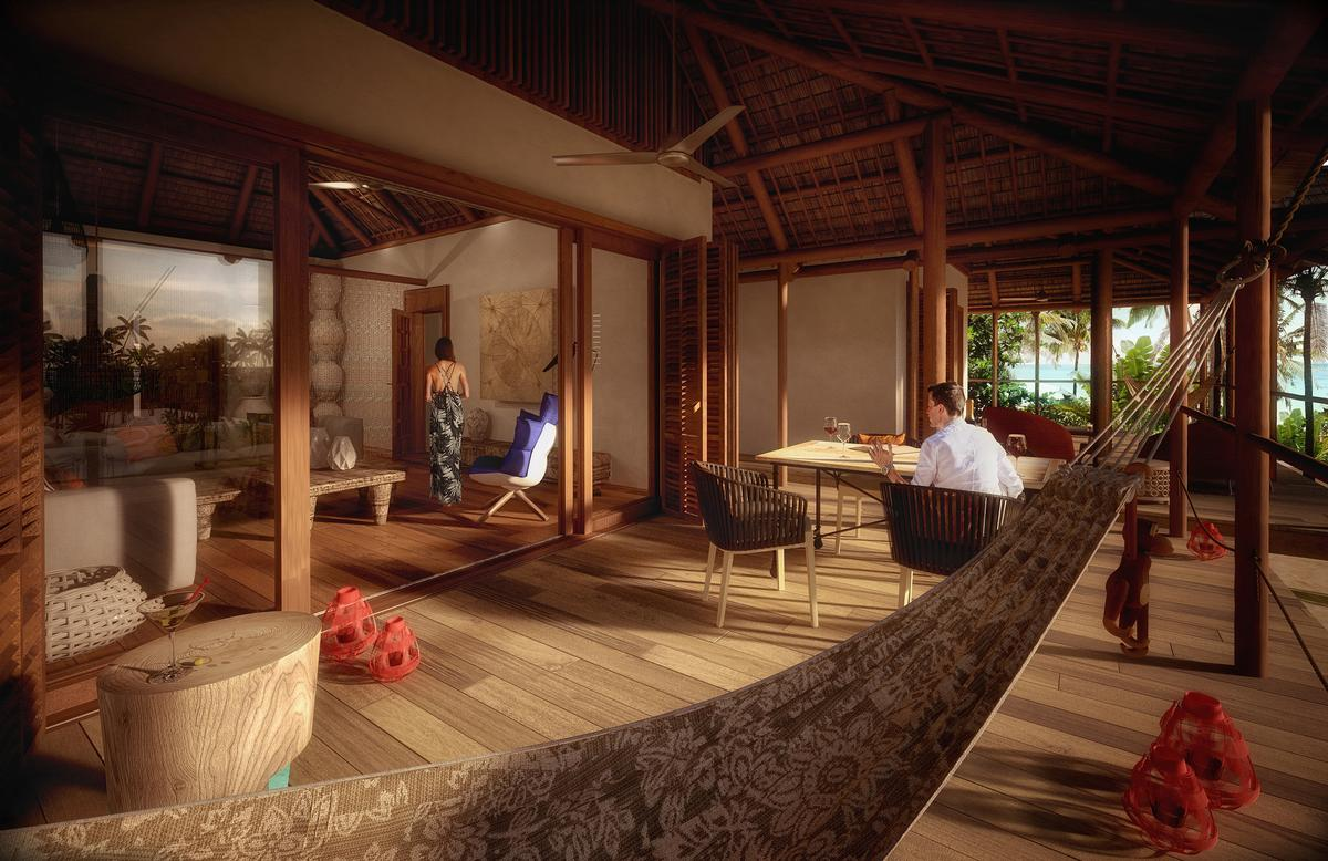 African architecture will be used in both the interior and exterior designs / Jestico + Whiles