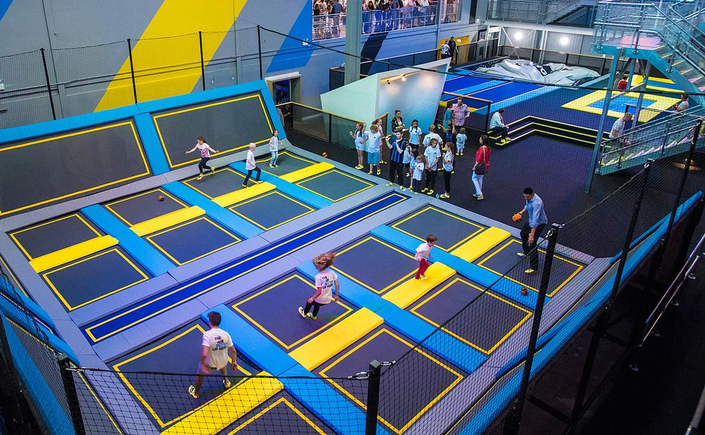 Oxygen Freejumping in Acton is already drawing the crowds