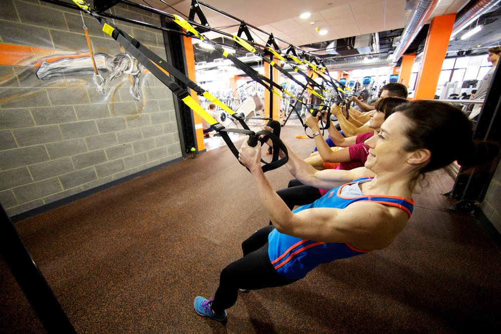 There are plans to offer impromptu functional training sessions on the gym floor