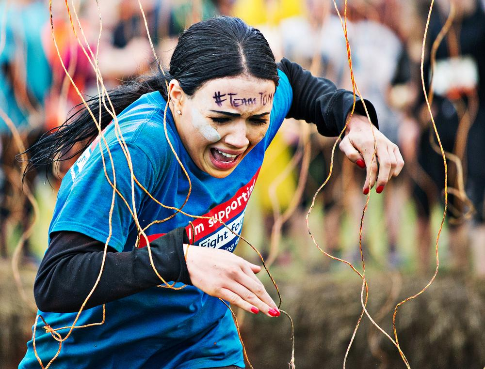 The obstacle races are popular among both men and women / Photo: Kirsten Holst