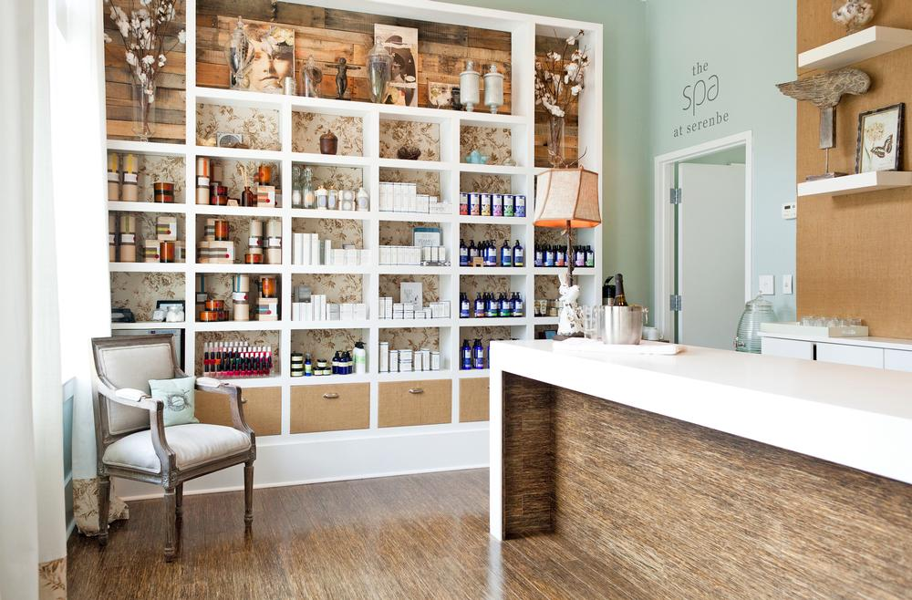 The spa at Serenbe offers holistic treatments using pure natural products
