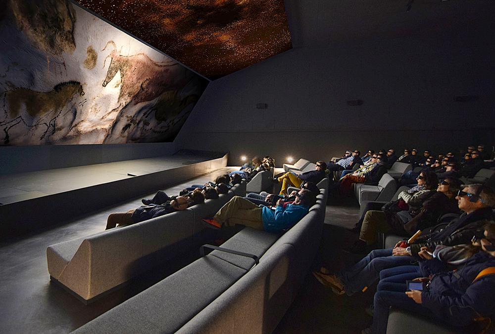 A 3D cinema experience takes visitors into the heart of the original Lascaux cave, which is now closed / Image: Eric Solé