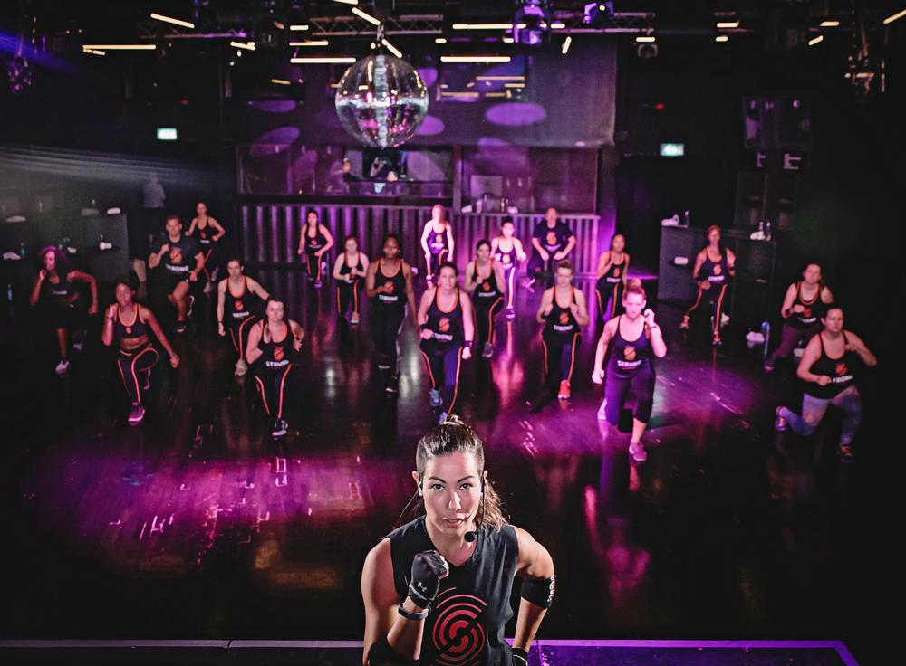 STRONG by Zumba participants must complete a PAR-Q before taking part in a class