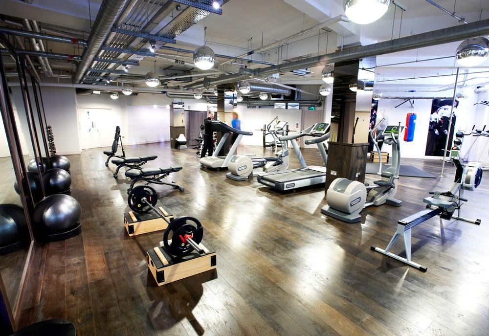 Roberts says his health clubs have more open space than ever before, with fewer machines