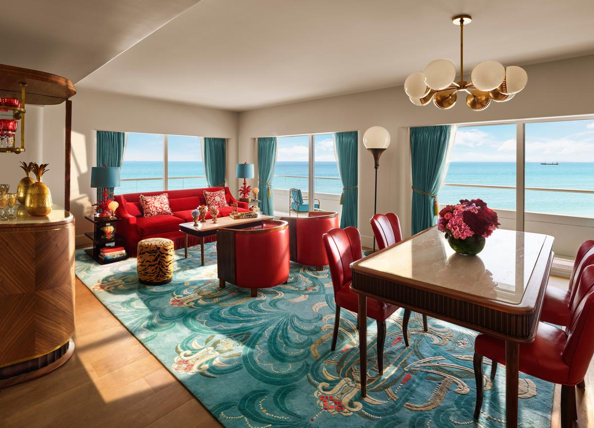 The Faena Hotel Features What Promises To Be Stunning Interiors Designed By  Filmmaker Baz Luhrmann And His Wife, Academy Award Winning Costume Designer  ...