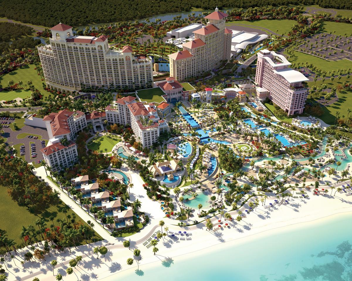 Bahamian Prime Minister Christie said 'completion of the Baha Mar resort is a matter of the utmost national importance' / Baha Mar