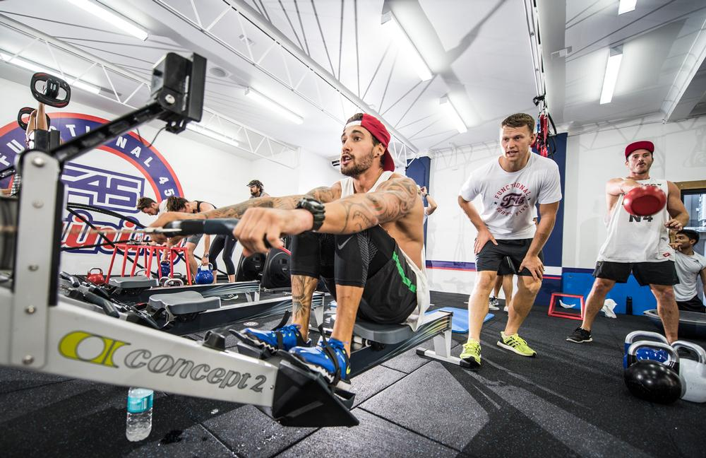 F45 classes promote the vital practice of warm-ups and cool downs