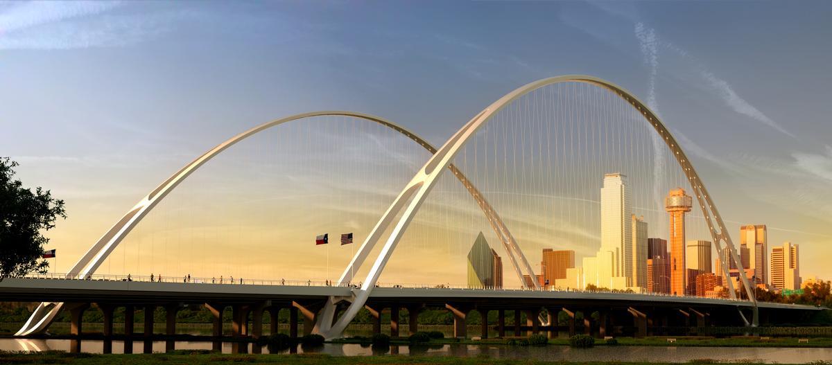 Calatrava's Margaret McDermott Bridge in Dallas / The European Prize for Architecture